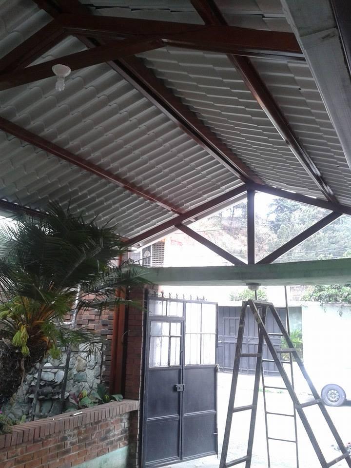 Estructuras metalicas techos good techos de chapa estructuras metalicas entrepisos escaleras - Estructuras de madera para techos ...